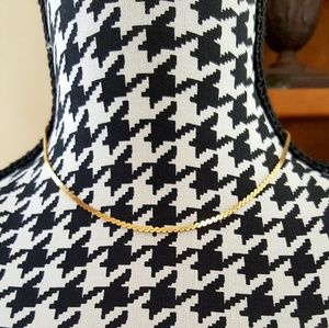 14KYG Lovely Serpentine Chain Necklace
